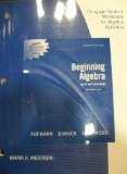Beginning Algebra with Applications  7th 2011 (Workbook) 9780538731591 Front Cover