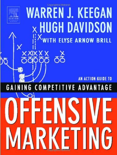 Offensive Marketing An Action Guide to Gaining Competitive Advantage  2003 9780750674591 Front Cover