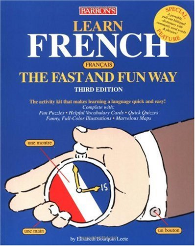 Learn French the Fast and Fun Way  3rd 2004 edition cover