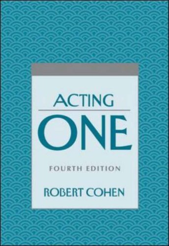 Acting One  4th 2002 (Revised) edition cover