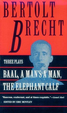 Baal A Man's a Man - The Elephant Calf N/A edition cover