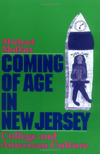 Coming of Age in New Jersey College and American Culture  1989 edition cover