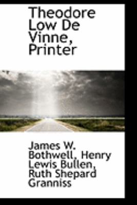 Theodore Low De Vinne, Printer:   2009 edition cover