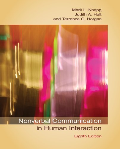 Nonverbal Communication in Human Interaction  8th 2014 edition cover