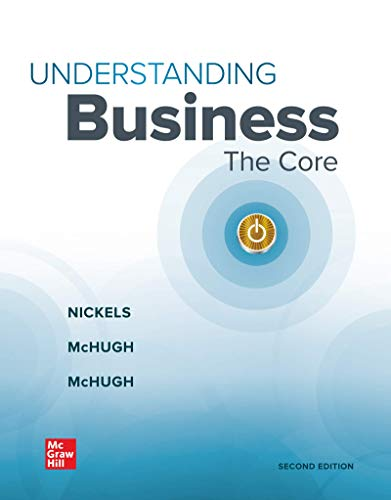 UNDERSTANDING BUSINESS:CORE             N/A 9781264059591 Front Cover