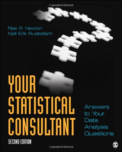 Your Statistical Consultant Answers to Your Data Analysis Questions 2nd 2013 edition cover