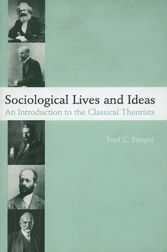 Sociological Lives and Ideas An Introduction to the Classical Theorists  2000 edition cover