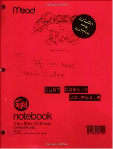 Kurt Cobain Journals   2003 9781573223591 Front Cover