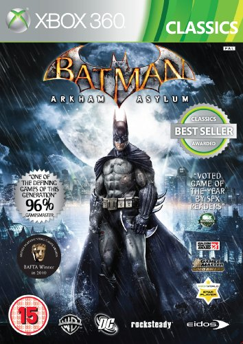Batman: Arkham Asylum - Classics (Xbox 360) by Square Enix Xbox 360 artwork