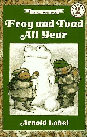 Frog and Toad All Year   2011 9780064440592 Front Cover