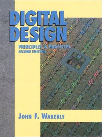 Digital Design 2nd 1994 9780132114592 Front Cover