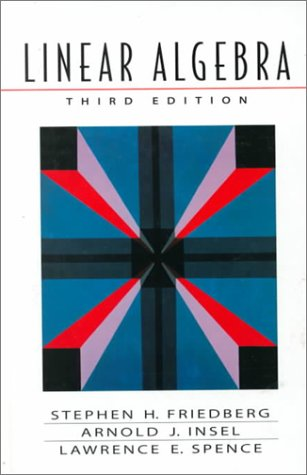 Linear Algebra  3rd 1997 edition cover