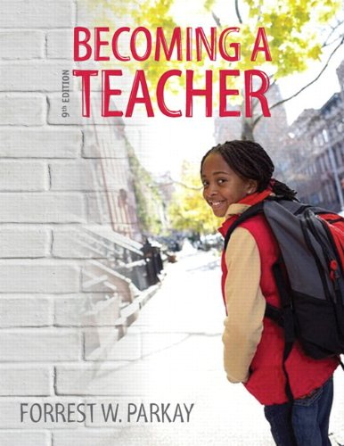 Becoming a Teacher  9th 2013 edition cover