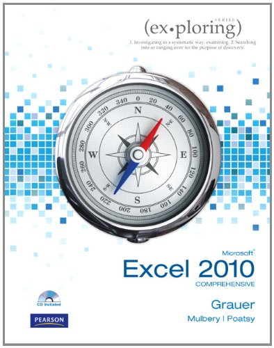 Microsoft Office Excel 2010 Comprehensive   2011 edition cover