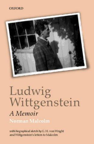 Ludwig Wittgenstein A Memoir 2nd 2001 edition cover