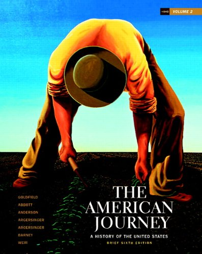 American Journey A History of the United States 6th 2011 (Brief Edition) edition cover