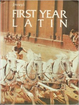 Jenny's First Year Latin  1983 9780205078592 Front Cover