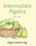 Intermediate Algebra  5th 2016 edition cover