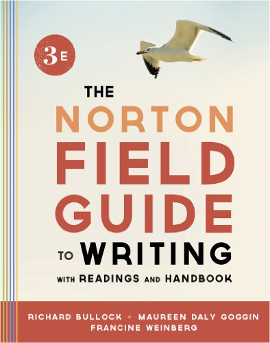 Norton Field Guide to Writing, with Readings and Handbook  3rd 9780393919592 Front Cover