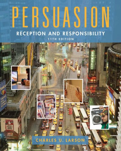 Persuasion Reception and Responsibility 11th 2007 edition cover
