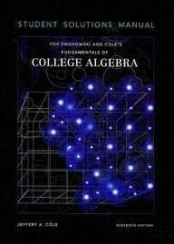 Fundamentals of College Algebra  11th 2005 9780534464592 Front Cover