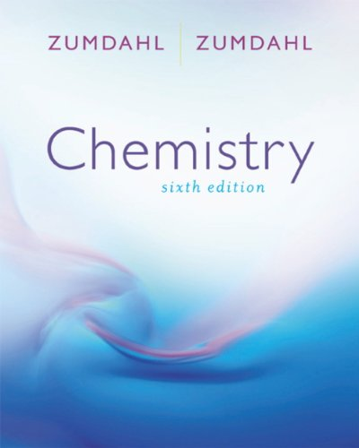 Experimental Chemistry Used with ... Zumdahl-Chemistry 6th 2003 (Lab Manual) 9780618221592 Front Cover