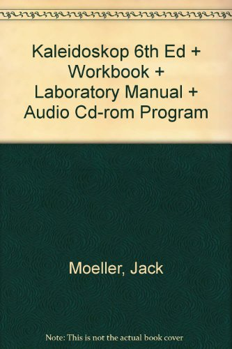 Kaleidoskop Sixth Edition and Workbook and Laboratory Manual and Audio CD-ROM Program 6th 2002 9780618234592 Front Cover