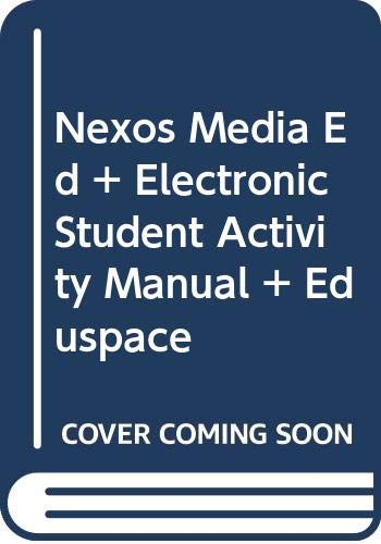 Nexos Media Edition Plus Electronic Student Activity Manual with Eduspace   2007 9780618771592 Front Cover