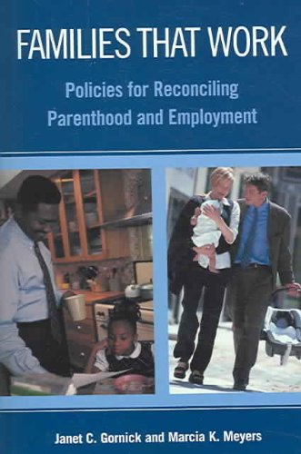 Families that Work Policies for Reconciling Parenthood and Employment  2003 edition cover