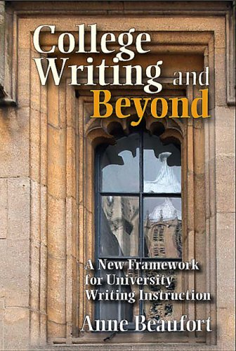 College Writing and Beyond A New Framework for University Writing Instruction  2007 edition cover