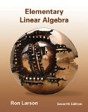 Elementary Linear Algebra + Enhanced Webassign Printed Access Card for Applied Math, Single-term Courses:   2013 9781133426592 Front Cover