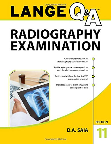 Lange Q&a Radiography Examination:   2017 9781259863592 Front Cover
