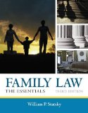 Family Law: The Essentials  2013 edition cover