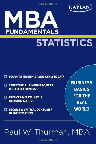 MBA Fundamentals Statistics  N/A edition cover