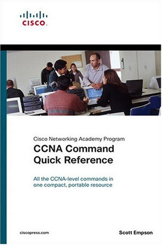 CCNA Command Quick Reference   2005 edition cover