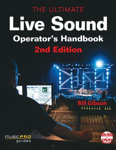 Ultimate Live Sound Operator's Handbook  2nd 2011 (Revised) edition cover