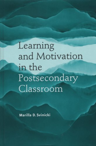 Learning and Motivation in the Postsecondary Classroom   2004 edition cover