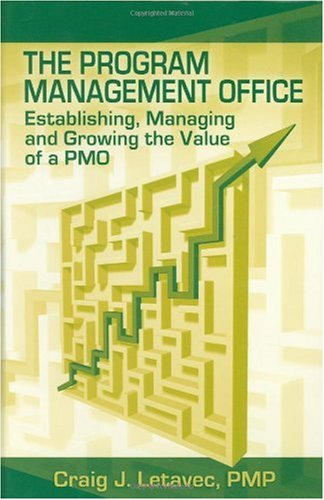 Program Management Office Establishing, Managing and Growing the Value of a Pmo  2006 edition cover