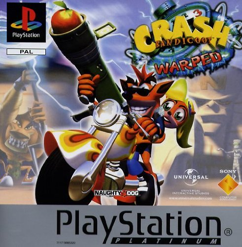Crash Bandicoot 3 PlayStation artwork