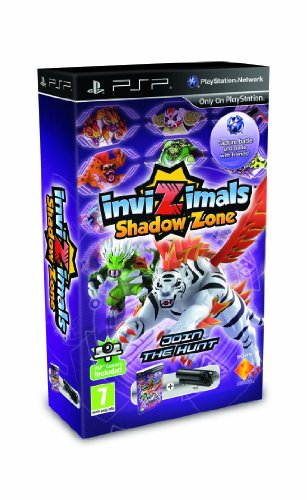 Invizimals Shadow Zone : Game plus PSP Camera Sony PSP artwork
