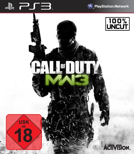 Call of Duty MW3 PlayStation 3 artwork