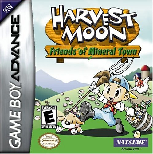 Harvest Moon: Friends of Mineral Town Game Boy Advance artwork