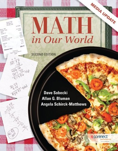 Math in Our World  2nd 2013 (Revised) edition cover