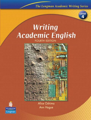 Writing Academic English  4th 2006 edition cover