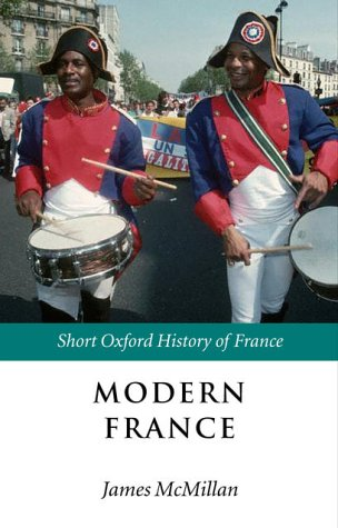 Modern France 1880-2002  2002 edition cover