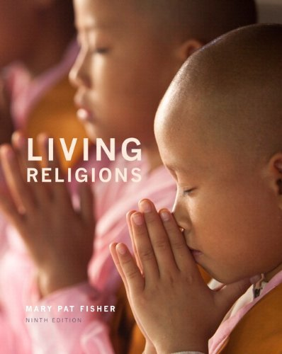Living Religions Plus NEW MyReligionLab with Pearson EText --Access Card Package  9th 2014 edition cover