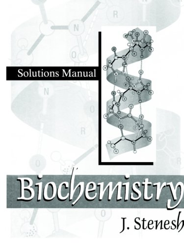 Biochemistry   1998 (Student Manual, Study Guide, etc.) 9780306457593 Front Cover