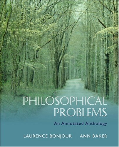 Philosophical Problems An Annotated Anthology  2005 edition cover