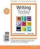 Writing Today: Books a La Carte Edition  2015 edition cover