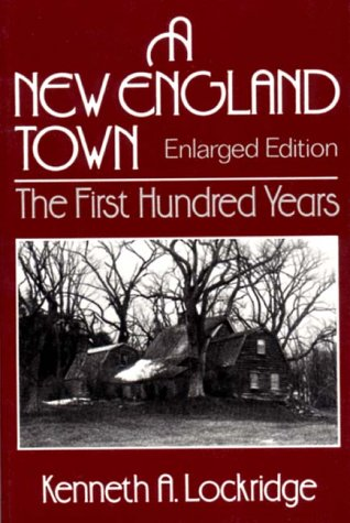 New England Town The First Hundred Years 2nd edition cover
